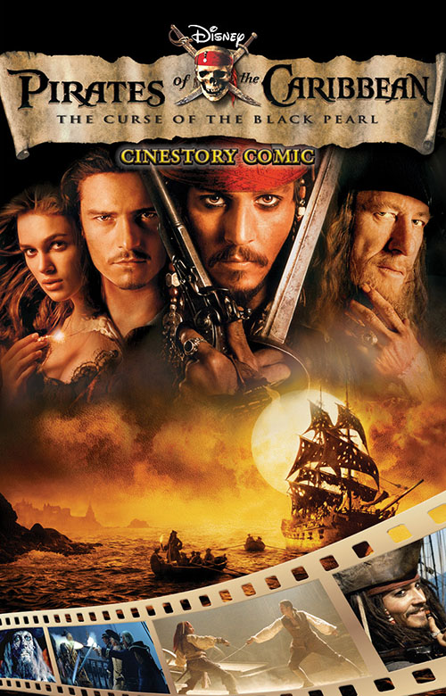 Pirates of the Caribbean CineStory Cover